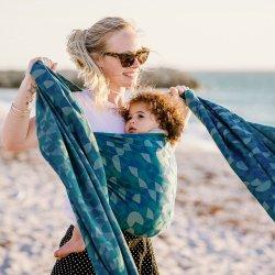 Fidella Kaleidoscope - ocean teal