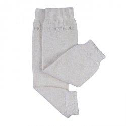 Baby leg warmers Hoppediz cashmere/merino - créme