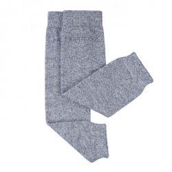 Baby leg warmers Hoppediz cashmere/merino - grey