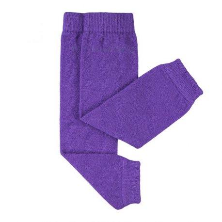 Baby leg warmers Hoppediz cashmere/merino - lilac