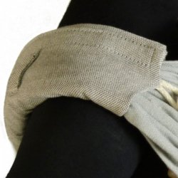 DidyPad - ramenní vycpávky pro nosítka DIDYMOS - Silber