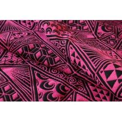Yaro Geodesic Puffy Black Pink Wool
