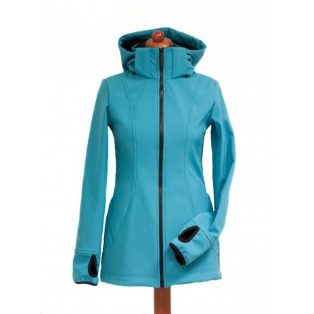 Angel Wings Softshell Jacket turquoise