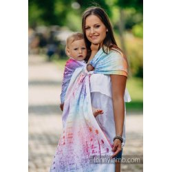 LennyLamb ring-sling Symphony Rainbow Light