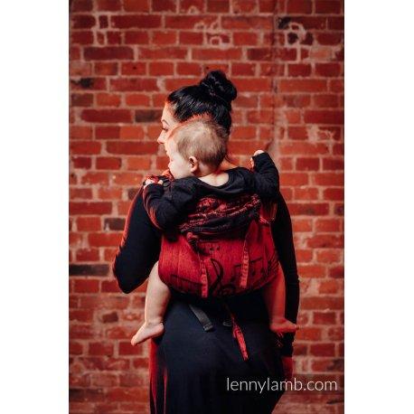 LennyLamb Onbuhimo zádové nosítko - Symphony Flamenco