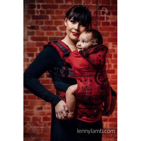 LennyLamb ergonomické nosítko Symphony Flamenco