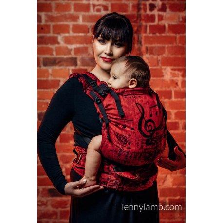 LennyLamb LennyUp rostoucí ergonomické nosítko Symphony Flamenco