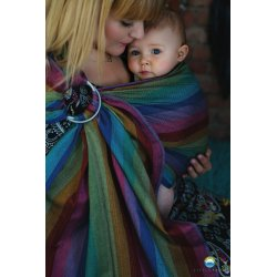Little Frog Ring Sling Dark Spectrolite