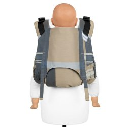 Fidella Onbuhimo V2 back carrier - London - beige