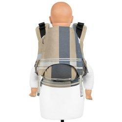 Fidella Fusion 2.0 ergonomické nosítko s přezkami - London - beige