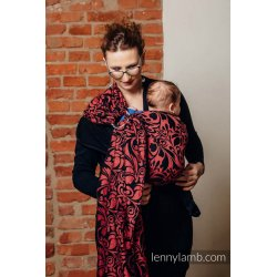 LennyLamb Ring sling Twisted Leaves - Pinch Of Chilli