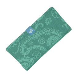 Fidella Drool Pads - Persian Paisley - jungle