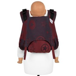 Fidella Onbuhimo V2 back carrier - Outer Space - ruby red