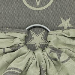Fidella ring sling Classic - Outer Space - reed green