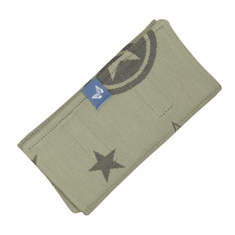 Fidella Drool Pads - Classic - Outer Space - reed green