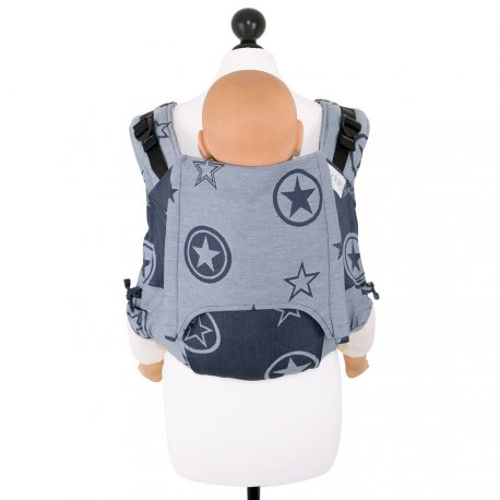 Fidella Onbuhimo back carrier - Outer Space - blue