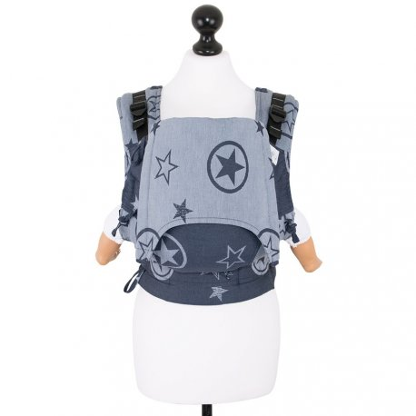 Fidella Fusion babycarrier with buckles - Outer Space - blue