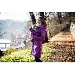 Angel Wings Softshell kabát fuchsiově fialový