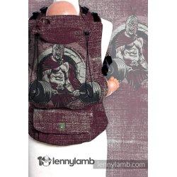 LennyLamb LennyUp rostoucí ergonomické nosítko Be Strong! (na zakázku)