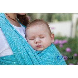 Beloved Slings Ring Sling Linen & Silk Maze