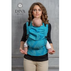 Diva Milano ergonomické nosítko s přezkami - Diva Essenza - Lago