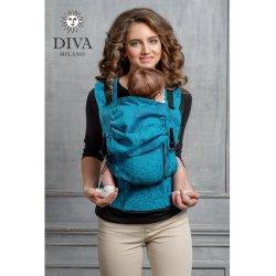 Diva Milano ergonomické nosítko s přezkami - Diva Essenza - Ceruleo