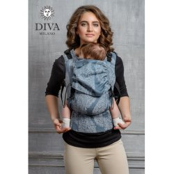 Diva Milano ergonomické nosítko s přezkami - Diva Essenza - Eclipse