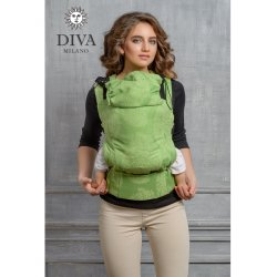 Diva Milano ergonomické nosítko s přezkami - Diva Essenza - Erba