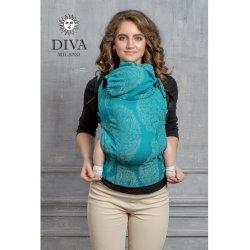 Diva Milano ergonomické nosítko s přezkami - Diva Essenza - Smeraldo