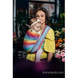 LennyLamb Little Herringbone Rainbow Light