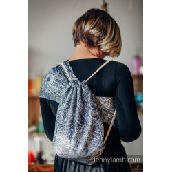 LennyLamb SackPack Wild Wine Grey & White