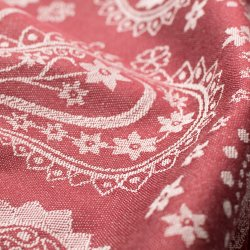 Fidella Persian Paisley - ruby red