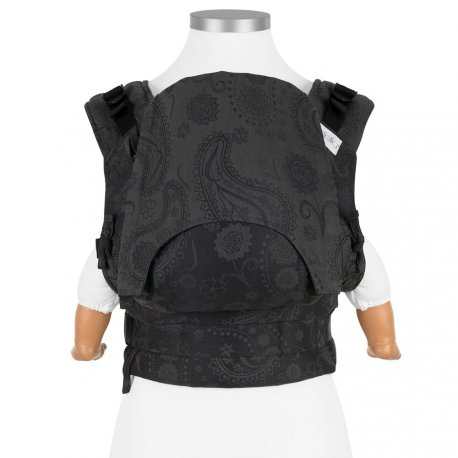 Fidella Fusion babycarrier with buckles - Persian Paisley - charming black