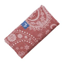 Fidella Drool Pads - Classic - Persian Paisley - ruby red