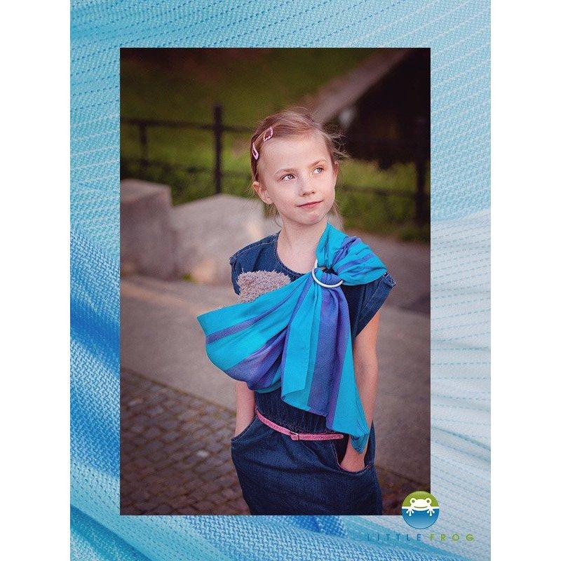 888d238e963 Little Frog dětský ring-sling šátek pro panenky Light Euclase ...