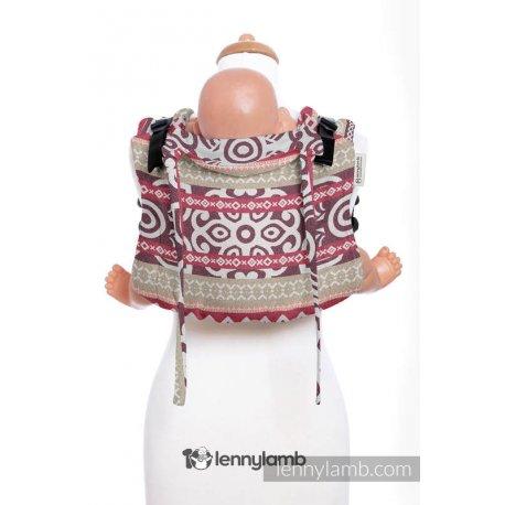 LennyLamb Onbuhimo zádové nosítko - Good Vibes (Na zakázku)