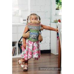 LennyLamb dětské nosítko pro panenky Positive Vibes (Na zakázku)