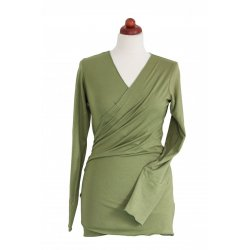 Angel Wings summer Wrap Sweater green (bamboo)