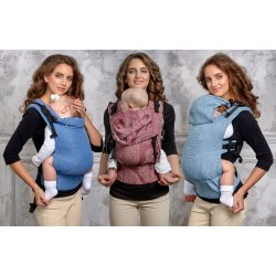 Diva Milano babycarrier with buckles - Diva Basico - Aprile