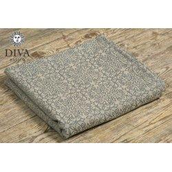 Diva Milano ergonomické nosítko s přezkami - Diva Basico - Damasco