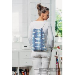LennyLamb Taška SackPack Fish'ka Big Blue