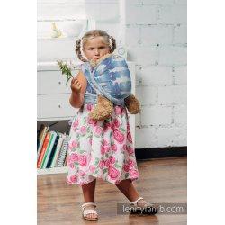 LennyLamb dětský šátek pro panenky Fish'ka Big Blue