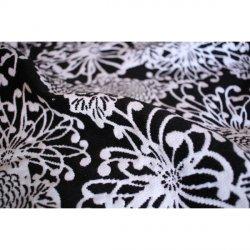 Yaro Chrys Puffy Black White Wool