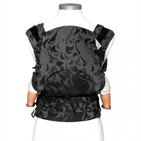 Fidella Fusion babycarrier with buckles - Wolf - anthracite