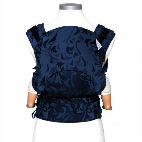 Fidella Fusion babycarrier with buckles - Wolf - royal blue