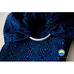 Little Frog Ring Sling Indigo Cube