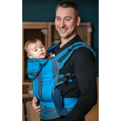 LennyLamb ergonomic carrier Mountain Spring