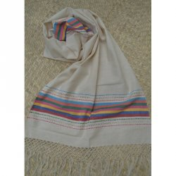 Indajani Rebozo Rainbow Nature