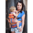 LennyLamb ergonomic carrier Zumba Orange