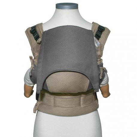 Fidella Fusion babycarrier with buckles - Lines - beige